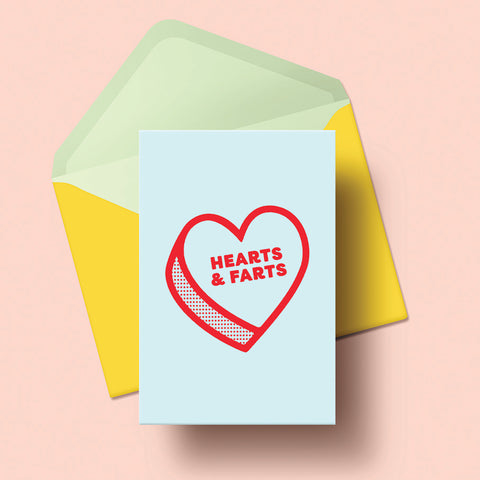 Card CL Hearts and Farts A6