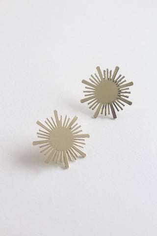 Earrings Superstar Brass