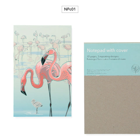Notepads With Covers Flamingo