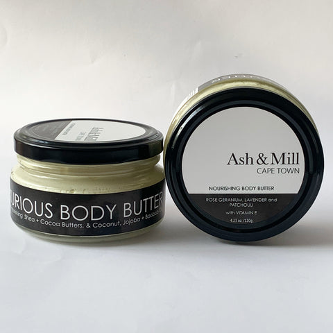 Body Butter Nourishing Rose Geranium, Lavender and Patchouli