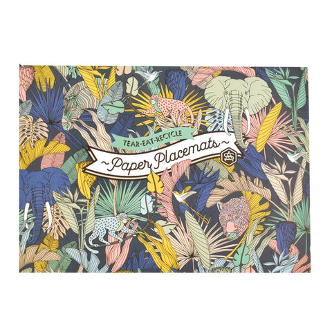 Disposable Placemats Wild at Heart 48 sheets