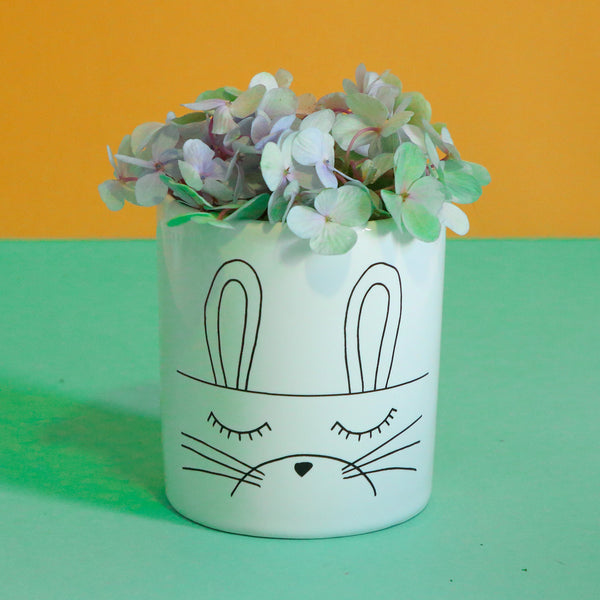 Jar Storage Wide Bunny