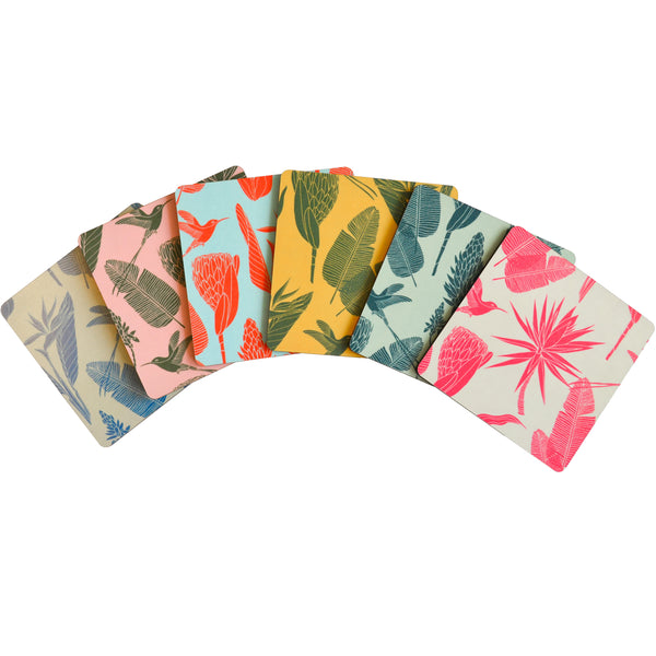 Coasters Botanicals Set Of 6