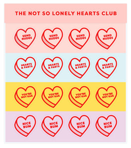 Sticker Pack Not So Lonely Hearts Club