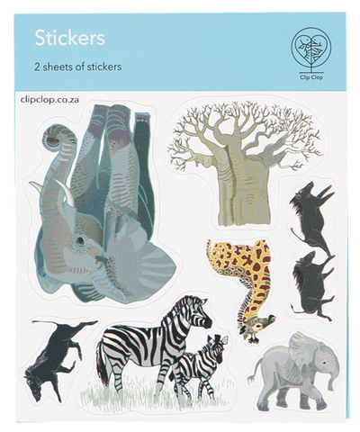 Stickers Animal Elephant