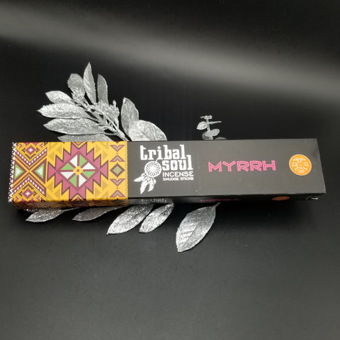 Myrrh Incense Tribal Soul
