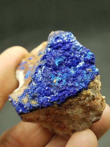 Blue Azurite with Chrysocolla