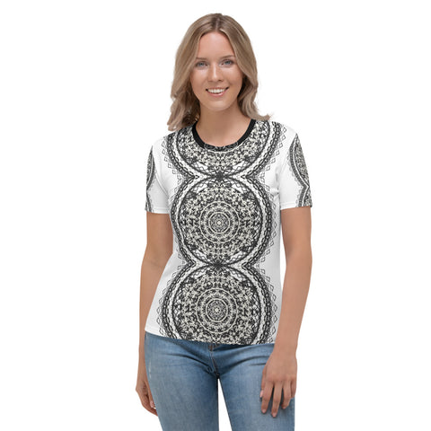 Tribal Mandala Women's T-shirt Spring 2020