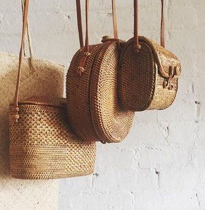 Ways to match your african woven basket bag with chic african fashion looks