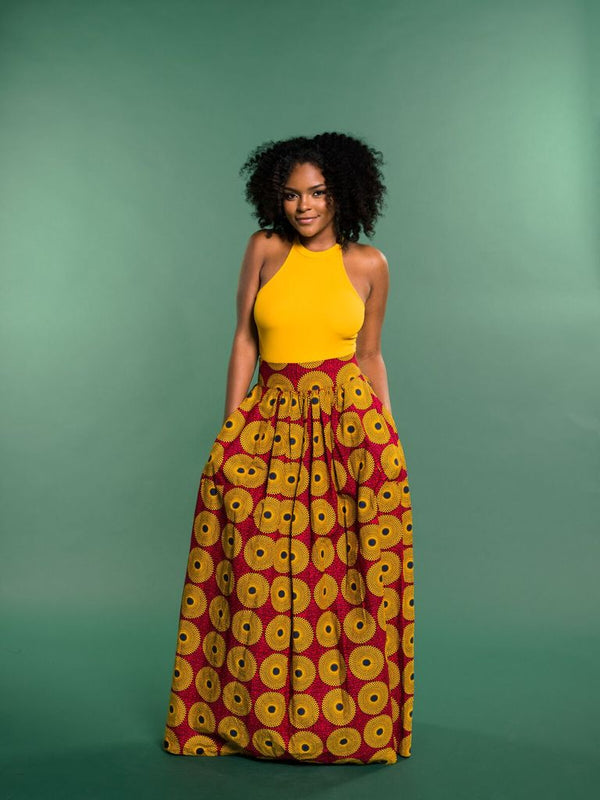 How to mix and match African prints