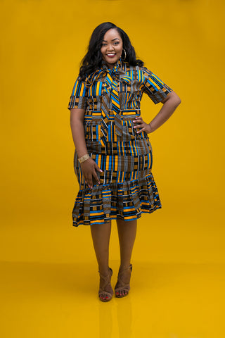 Rock African Print In Our Plus Size African Collection