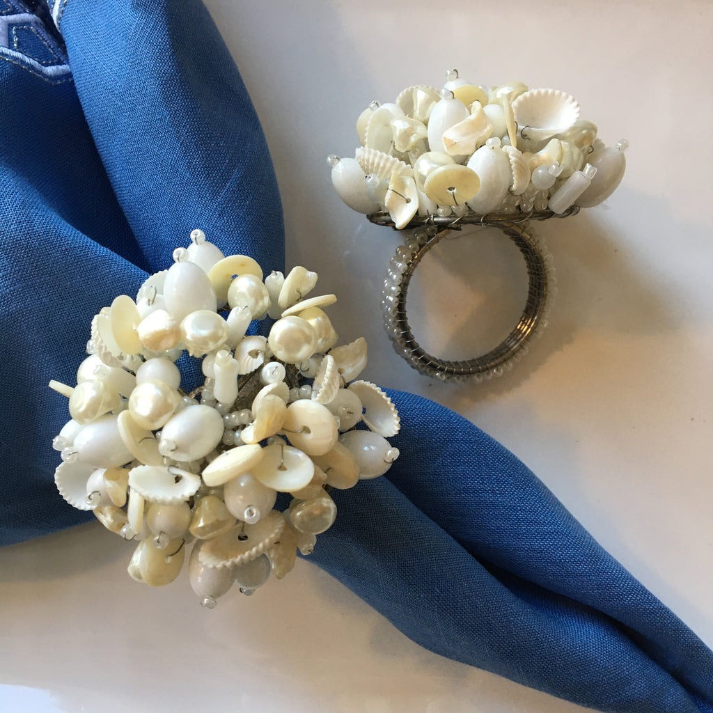 Pearl Shell Napkin Ring