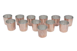 Copper Glass Votives