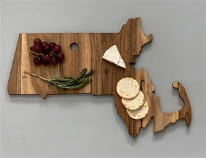 """Massachusetts"" Cutting Board"