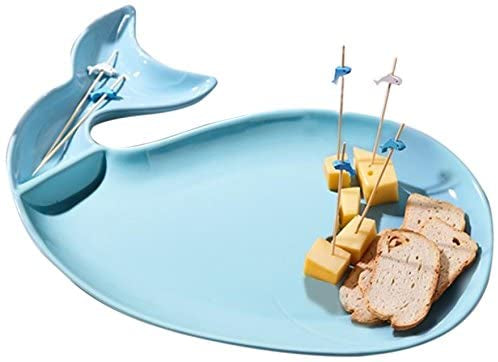 Whale Platter with Toothpicks