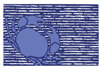 Blue Crab Vinyl Placemat
