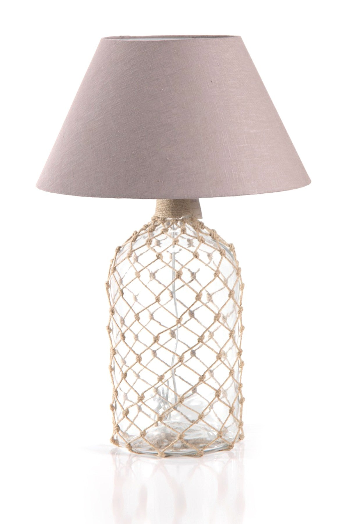 Bottle Net Lamp