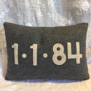Special Date Pillow