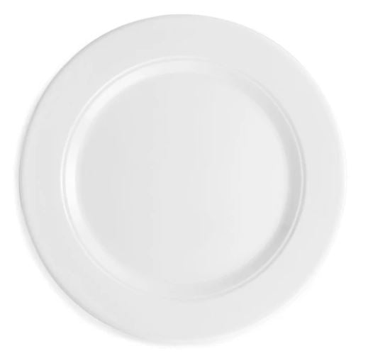 Diamond White Dinner Plate