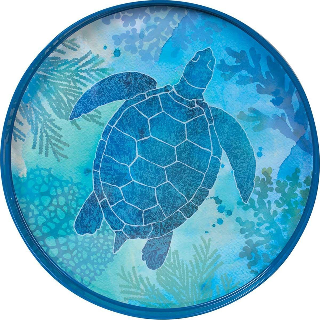 Sea Turtle Tray 18""