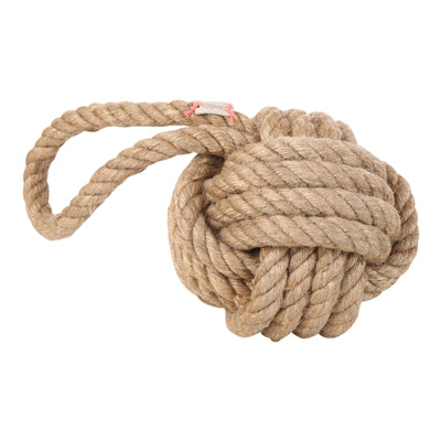 Jute Rope Door Stopper - Natural