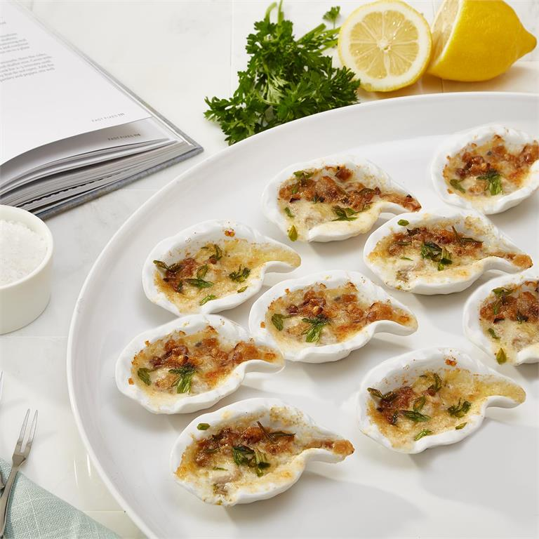 Oyster Baker with Recipes