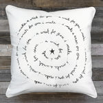 Make a Wish Pillow