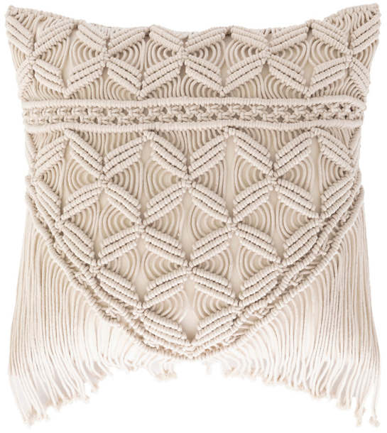 Jena Macrame Decorative Pillow