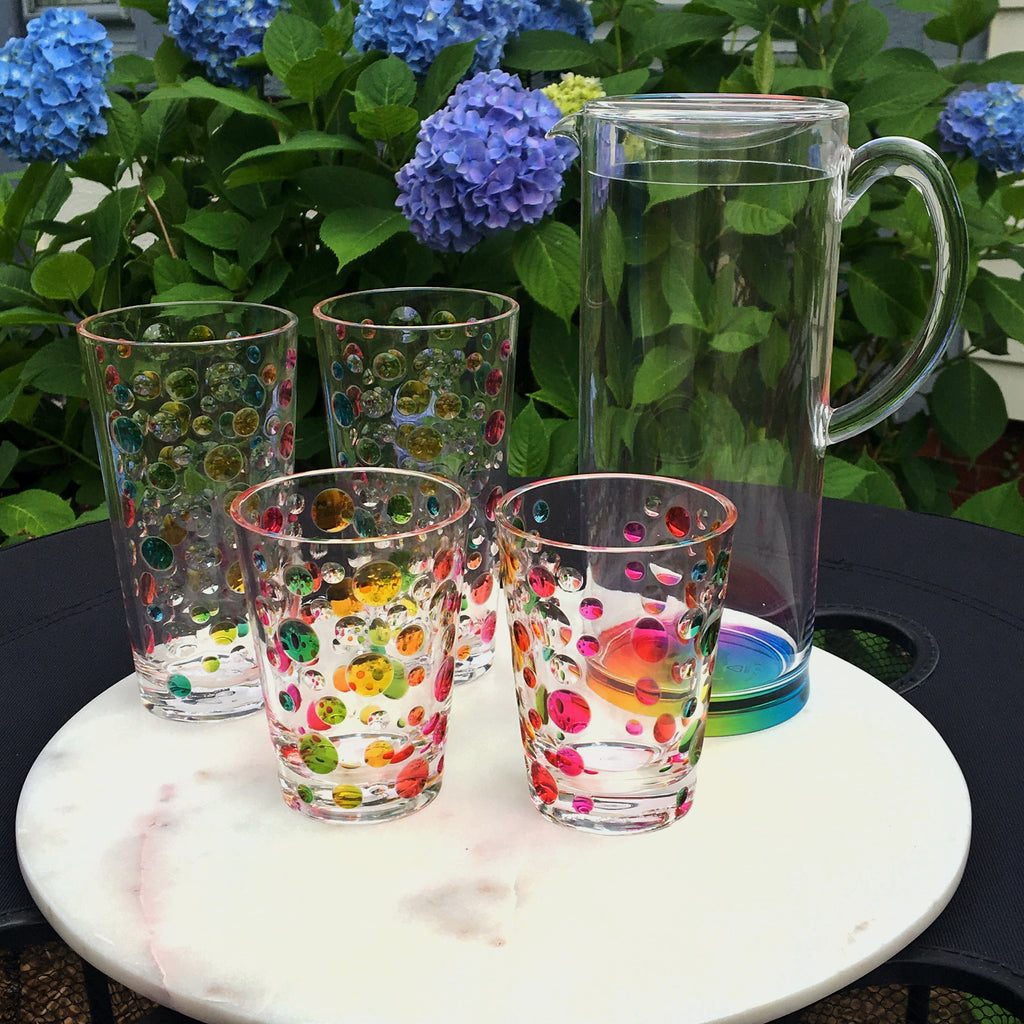 Rainbow Dots Tumbler (Set of 6)