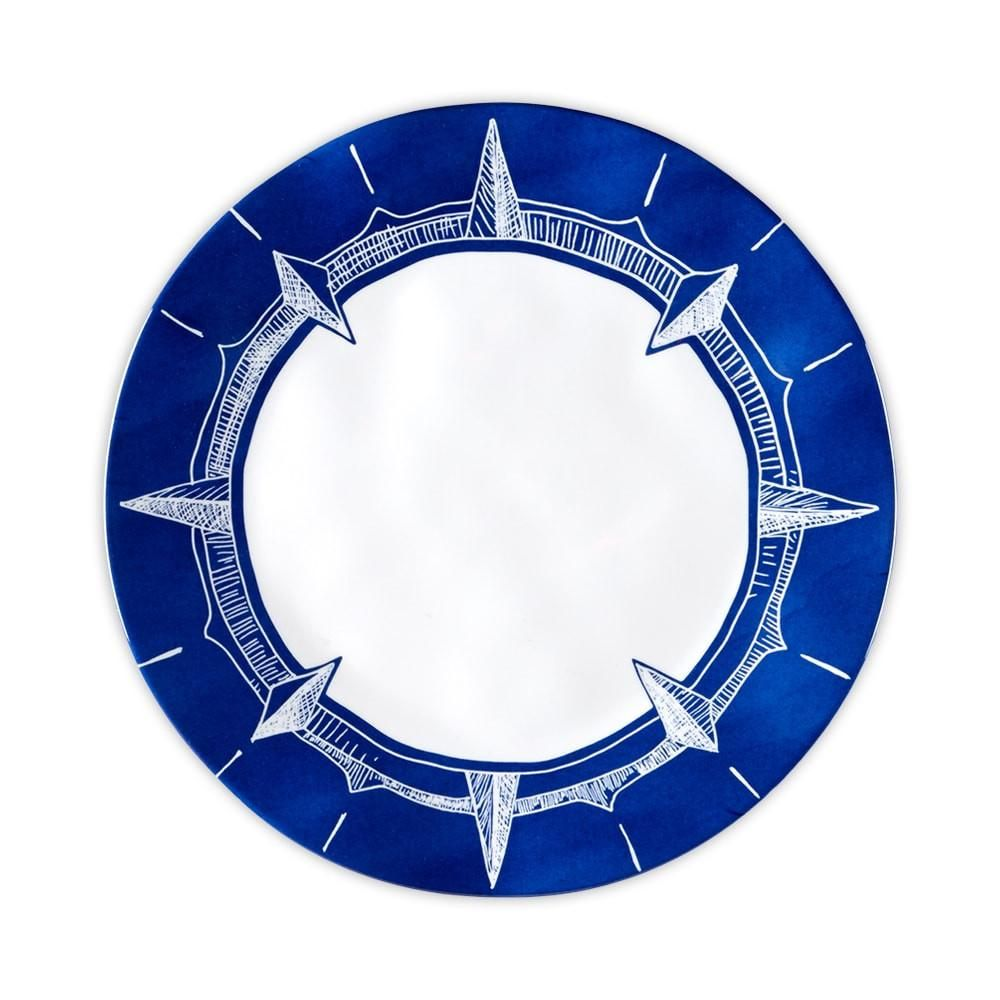 Nautical Melamine Dinner Plate
