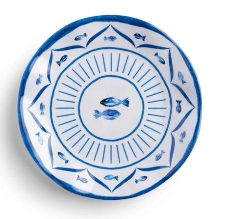 Fish Wish Salad Plate
