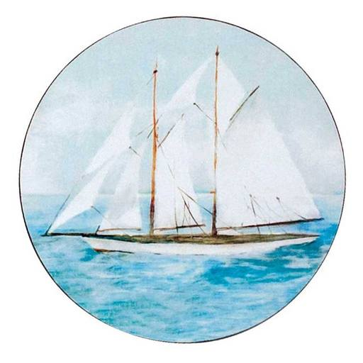 Summer Sail Coasters - Set/4