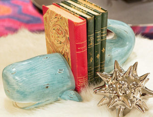 Whale Tale Bookends