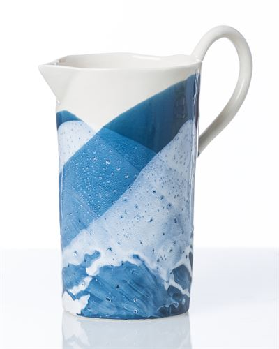 Ocean Spray Ceramic Pitcher