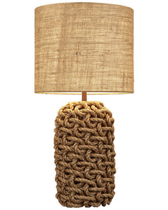 Large Rope Table Lamp