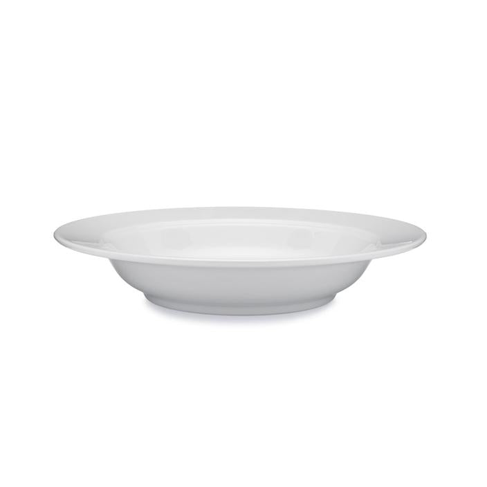 Diamond White Melamine Pasta Bowl