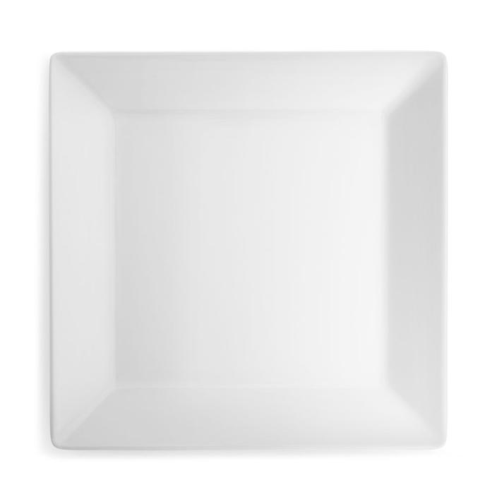 Diamond White Melamine Plate