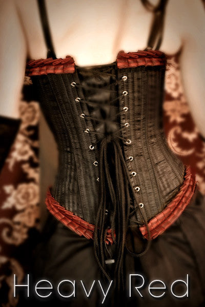 Victorian French Pleat Corset