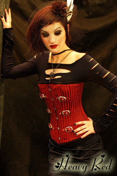 Sanguine Striation Corset