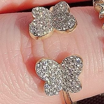 Butterfly Adjustable Ring JEWELRY The Sis Kiss