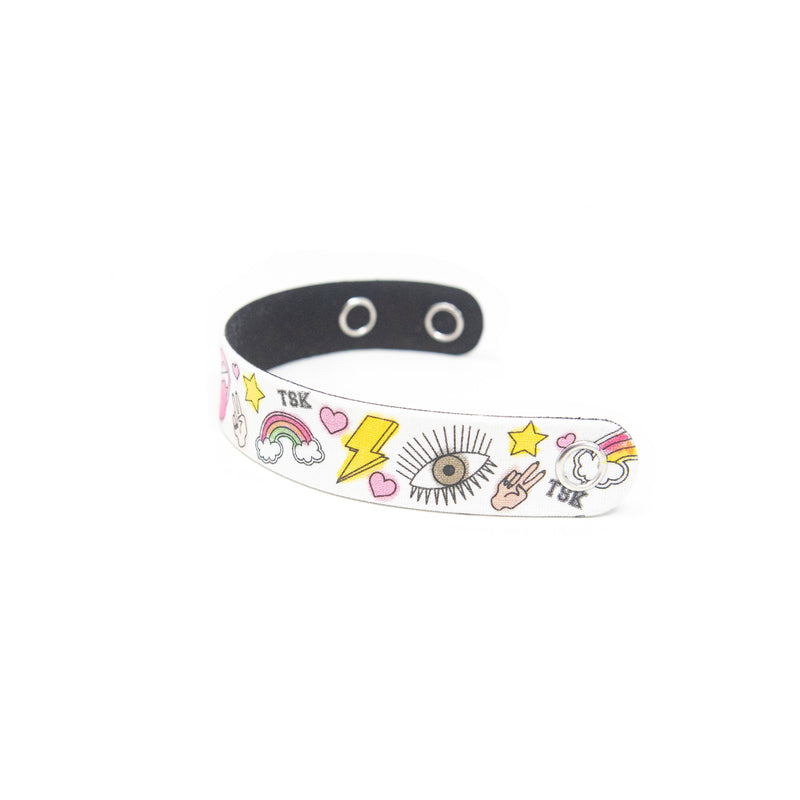 TSK Color Me Headband and Bracelet