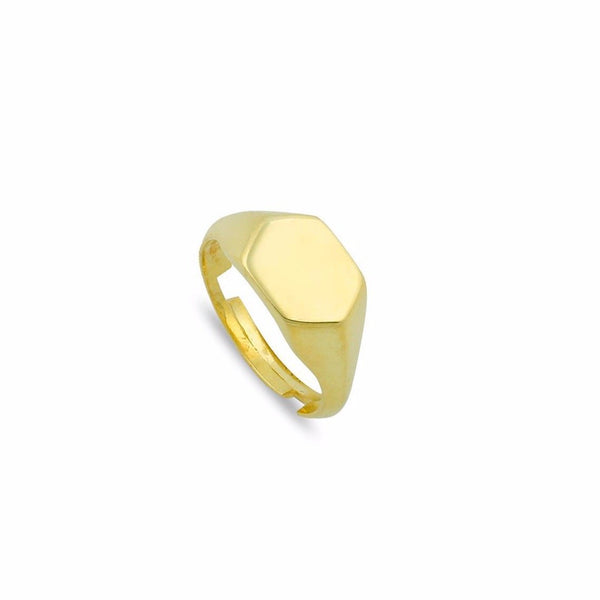 Hex Adjustable Pinky Ring