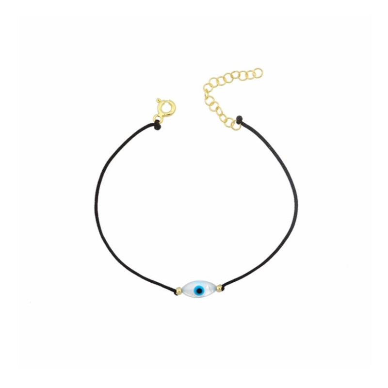 Evil Eye Dainty Cord Bracelets JEWELRY The Sis Kiss