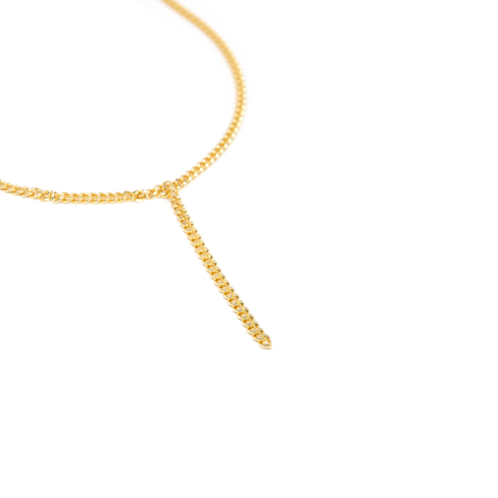 Dainty Curb Link Choker or Lariat
