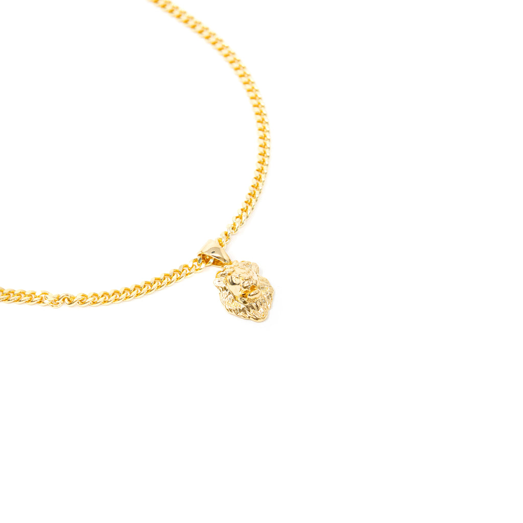 Leo Lion Charm Necklace JEWELRY The Sis Kiss