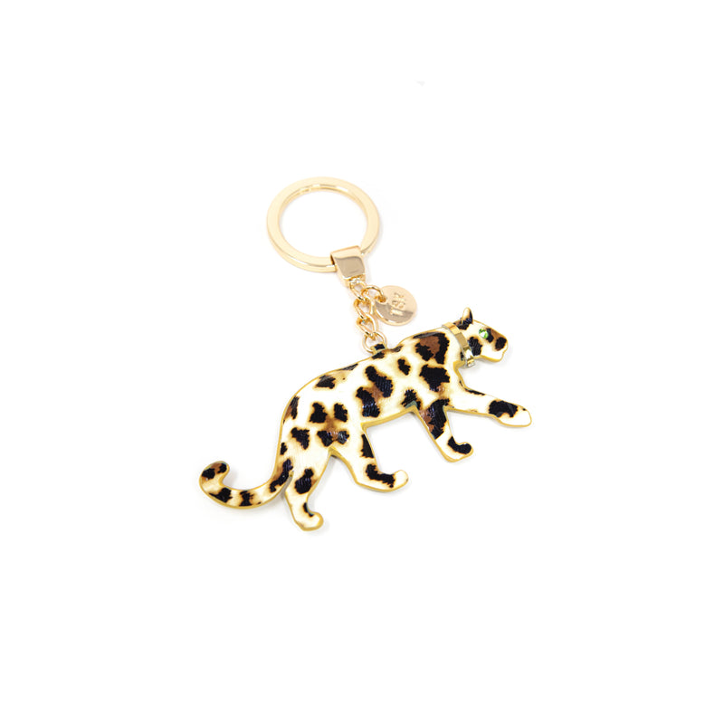 TSK Louis the Leopard Keychain