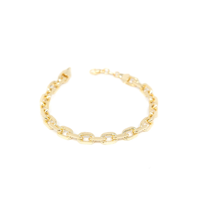 Classic Cable Chain Link Bracelet JEWELRY The Sis Kiss