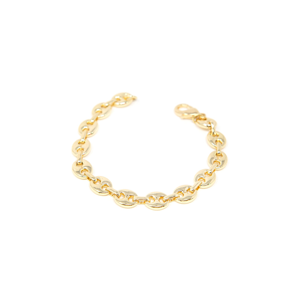 Gold Anchor Chain Bracelet JEWELRY The Sis Kiss
