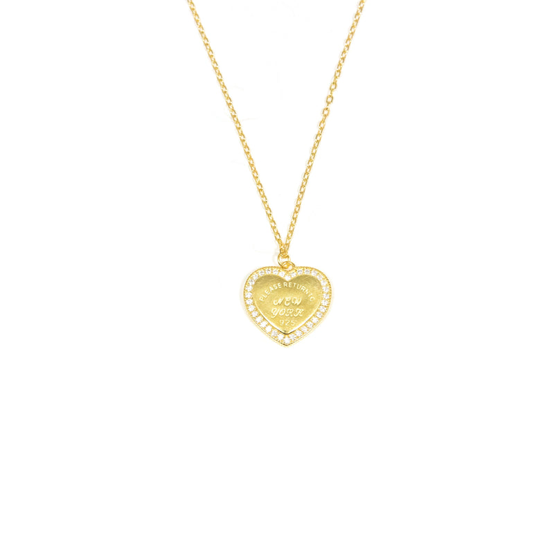 My Heart Belongs to New York Pendant JEWELRY The Sis Kiss