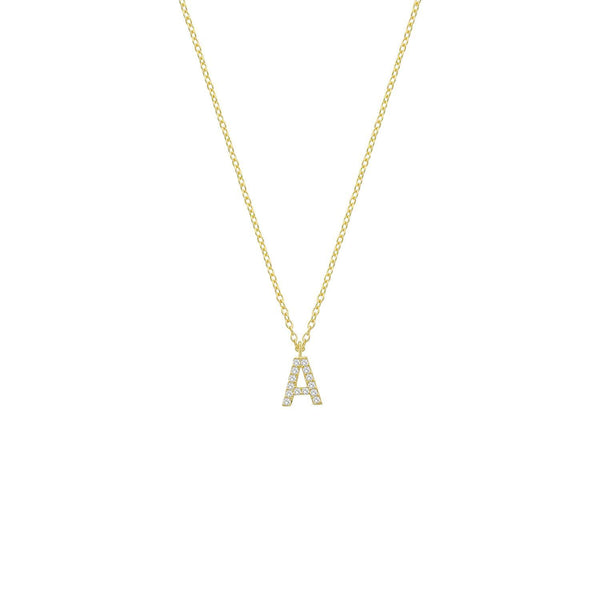 Classic Initial Necklaces